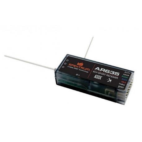Spektrum Recepteur 6 voies avec système AS3X (SPMAR635)