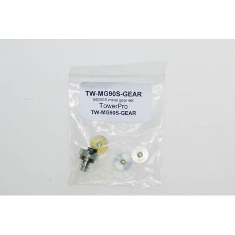 MG90S metal gear set