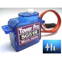 SG51R servo (RoHS), full plastic gear set, analog
