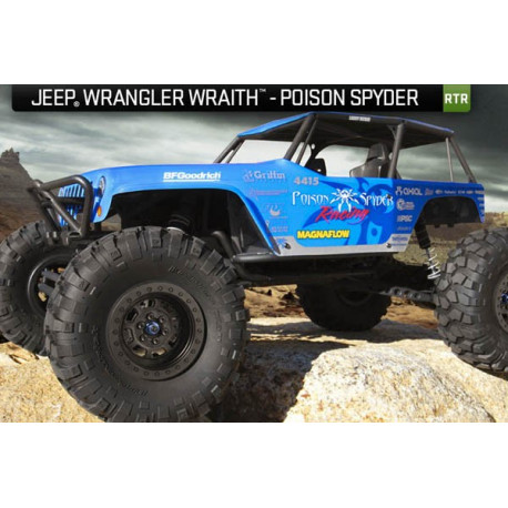 Axial Wraith Jeep Wrangler 1/10th Electric 4WD 2.4Ghz RTR (AX90031)