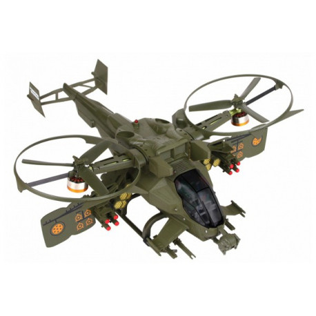 Pandora Warrior 6 Axis Gyro 4CH Brushless Dual-copter DEVO7 Mode 2