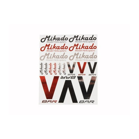 Sticker set Mikado/VBar (04447)