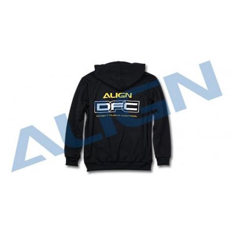 Align DFC Hoody Black / Sweat à capuche Align