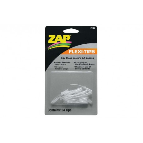 ZAP Flexi-Tips/ Applicateur precision long (PT-21)