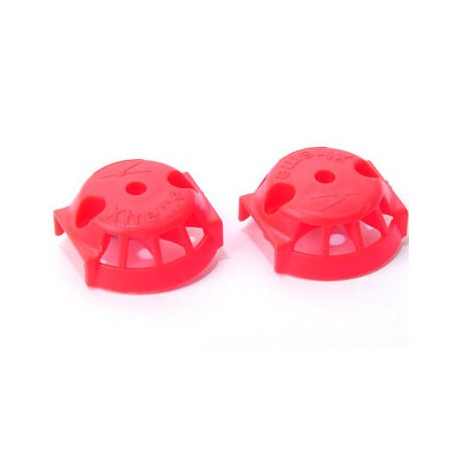 Couvercle / Plastic Cover for carbon blade (1 pair) Red - Blade 350QX