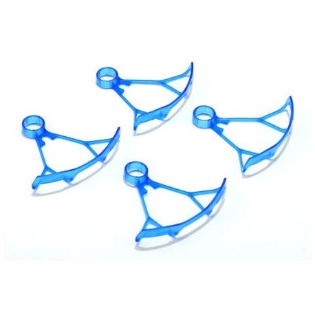 Protection Helice /Light Weight Bumper for Micro Quadcopters (for 7mm motor-Blue)(Hubsan X7 WL toys V252)