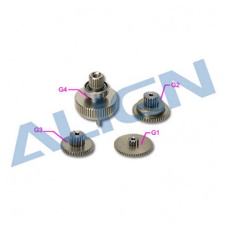 DS655 Servo Gear/Pignon de Servo (HSP65502T)
