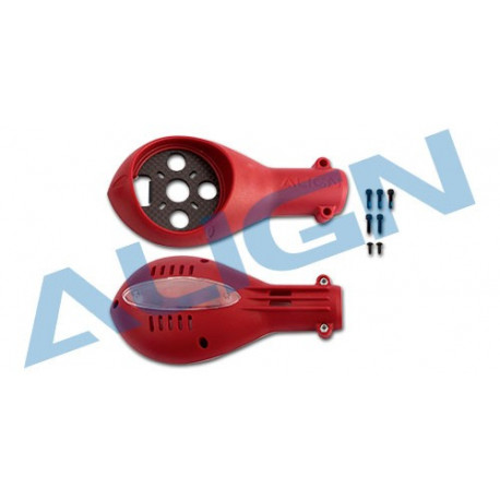 M480 Motor Mounts - Red (M480031XRT)