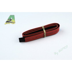 Tube thermo 10mm rouge+noir (160100)