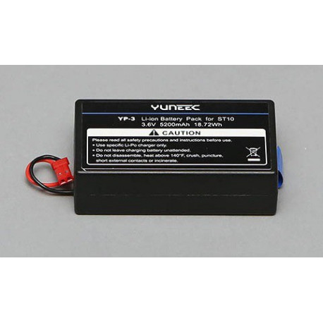 5200mAh 1-Cell / 1S 3.6V LiIon Battery: ST10