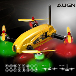 MR25 Racing Quad Combo - Yellow (RM42501XET)