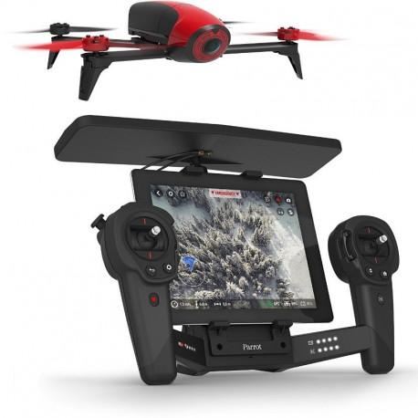 Bebop 2 + Skycontroller Black - Couleur : Red (Référence PF726100AB )