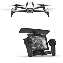 Drone Parrot Bebop 2 avec Skycontroller Noir/Blanc (PF726103AB)