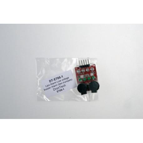 Lipo Alarm Low voltage buzzer Alarm (two trumpets)