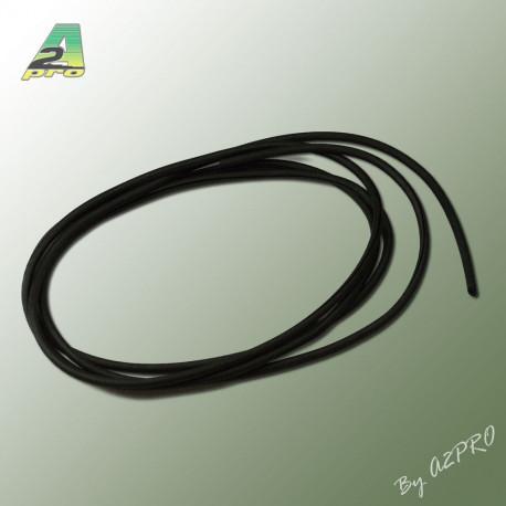 Liston caoutchouc rond 4 / Longueur 2m (210431)