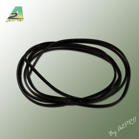 Liston caoutchouc carre H4mm L2m (210451)