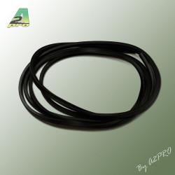 Liston caoutchouc carre H6mm L2m (210452)