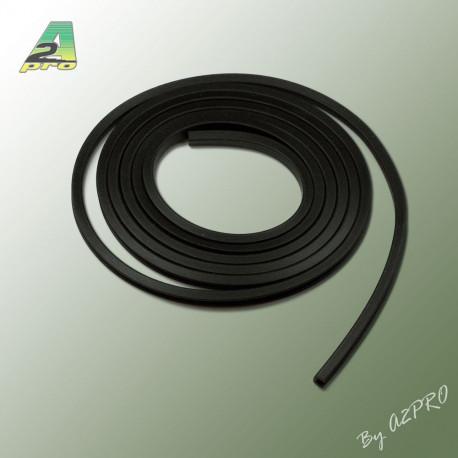 Liston caoutchouc carre H8mm L2m (210453)