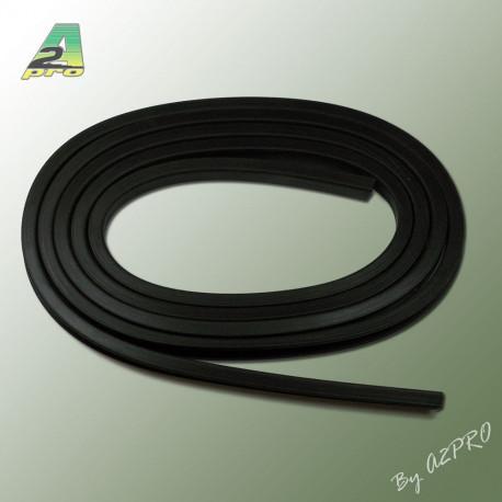 Liston caoutchouc carre H10mm L2m (210454)