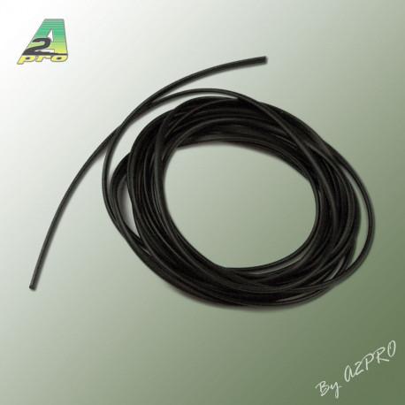 Liston caoutchouc demi rond H2mm L2m (210460)