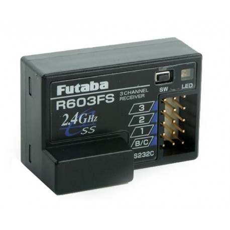 Futaba Receiver R603FS 3 Channel 2.4Ghz