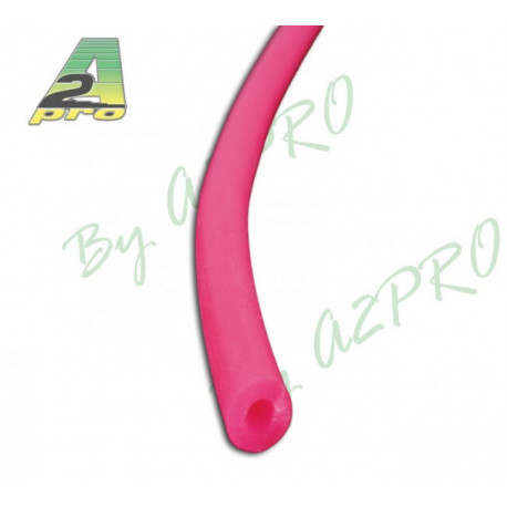 Durit en silicone rose fluo - 2x5mm (3621)