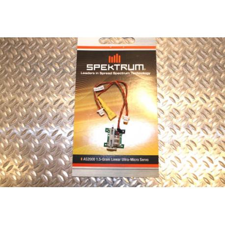 Spektrum 1.5 Gram Linear Ultra Micro Servo (SPMAS2000)