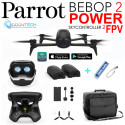 Drone Bebop 2 POWER Pack FPV avec 2 Batteries +Sac de transport + Batterie externe de secours