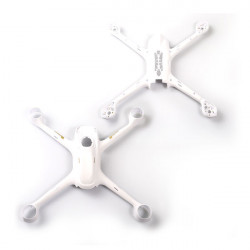 HUBSAN H501S BODY SHELL SET WHITE