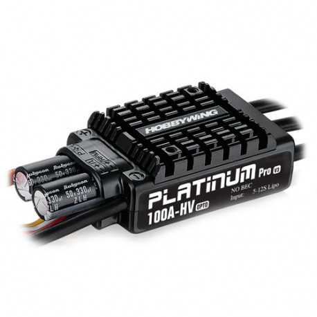 HOBBYWING PLATINUM PRO 100A OPTO HV V3 SPEED CONTROL