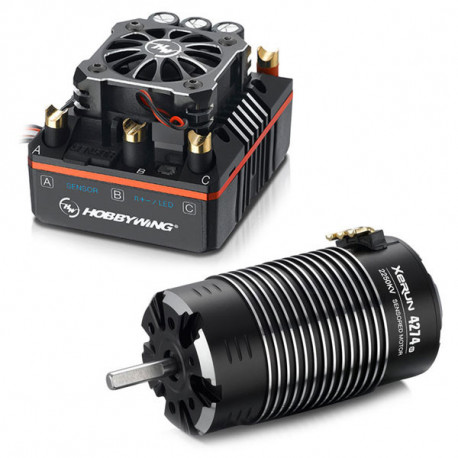 HOBBYWING COMBO (A) XR8 PLUS ESC and 4274SD-2250KV MOTOR
