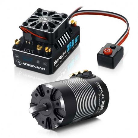 HOBBYWING COMBO (C) XR8-SCT ESC and 3660SD D5.00 3200 MOTOR