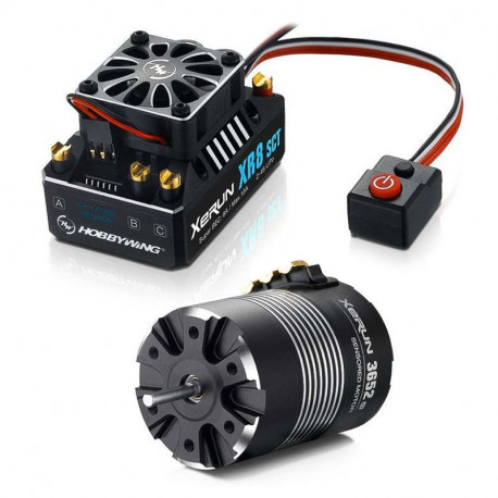 HOBBYWING COMBO (C) XR8-SCT ESC and 3652SD D5.00 3100 MOTOR