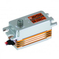 SAVOX CNC LOW PROFILE B/LESS DIGI SERVO 10KG/0.076s@6.0V