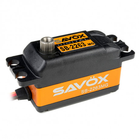 SAVOX LOW PROFILE BRUSHLESS DIGI SERVO 10KG/0.076s@6.0V