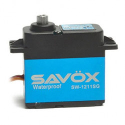 SAVOX WATERPROOF DIGITAL SERVO 15KG/0.10s@6V