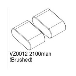 VOLTZ 2100mah SADDLE PACK 7.2V W/TAMIYA CONNECTOR (ENRAGE)