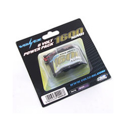 VOLTZ 1600mah 6.0V RECEIVER PACK HUMP(JR PLUG)