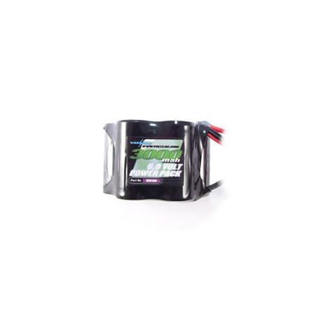 VOLTZ 3000mah 6.0V RECEIVER SUB-C 1/5 HUMP w/BEC/JR PLUG