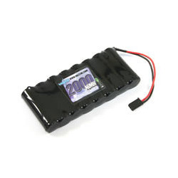 VOLTZ TX FLAT BATTERY 9.6v 2000MAH w/CONNECTOR