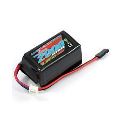 VOLTZ 2000mah 2S 6.6V RX LiFe HUMP BATTERY PACK
