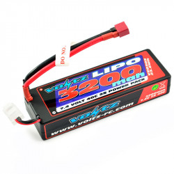 VOLTZ 3200mah HARD CASE 7.4V 40C LIPO STICK PACK