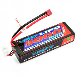 VOLTZ 5000mah 2S 7.4V 50C HARD CASE STICK BATTERY PACK