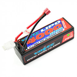VOLTZ 4000mah HARD CASE 11.1V 50C LIPO STICK PACK