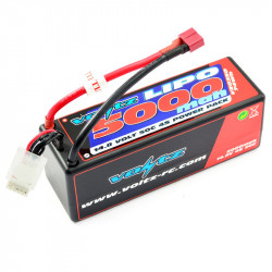 VOLTZ 5000mah HARD CASE 14.8V 50C LIPO STICK PACK