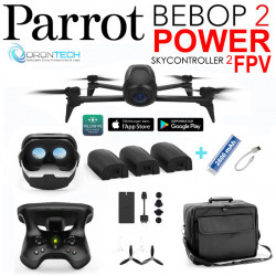 Drone Bebop 2 FPV Power + Sac Millenium + Batterie + Power bank