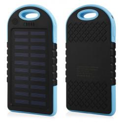 POWER BANK SOLAR F1 6000mAh waterproof Bleu