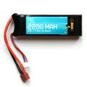 Batterie Lipo 2S 7.4v 2200mAh 20C (16 x 35 x 102mm - 115gr)