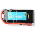 Batterie Lipo 3S 11.1v 1300mAh 20C (24 x 35 x 72mm - 113g)