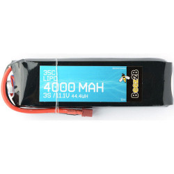 Batterie Lipo 3S 11.1v 4000mAh 35C (25 x 47 x 155mm - 326g)